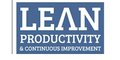 Lean & Continuous Improvement tickets