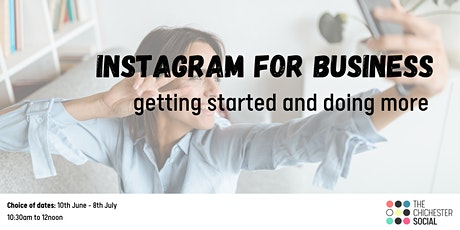 Instagram for Business: getting started and doing more tickets
