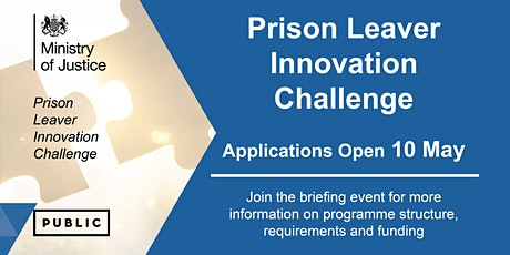 Prison Leavers Innovation Challenge: Briefing event tickets