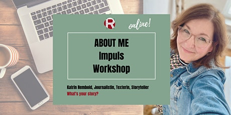 ABOUT ME – online Impuls-Workshop Tickets