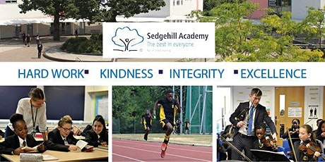 Sedgehill Academy Open Morning Tours tickets