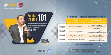 Program Belajar Trading 101 GKInvest (Intermediate) tickets