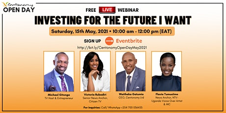 Centonomy Open Day: Investing For the Future I Want tickets