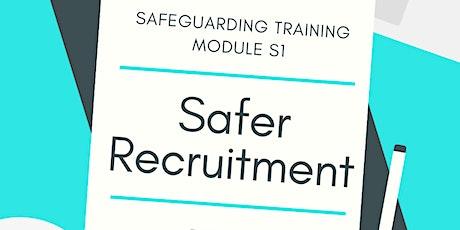 S1 Safeguarding - Safer Recruitment  (SFG)  10/6/2021 tickets