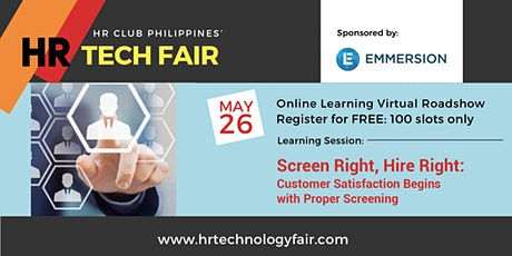 Free Webinar: Screen Right, Hire right tickets