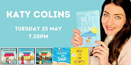 Katy Colins, author of uplifting, feel-good reads, in conversation. tickets