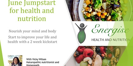 June Jumpstart to improve your health and nutrition tickets