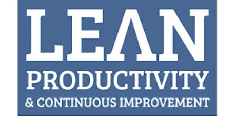 Lean  Productivity & Continuous Improvement tickets