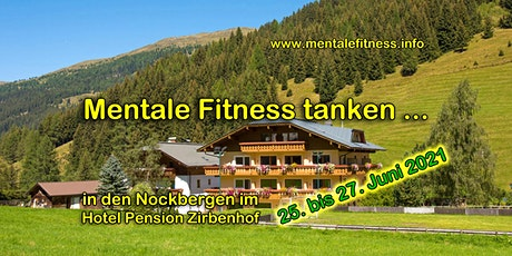 Mentale Fitness Wochenend-Workshop Juni 2021 Tickets