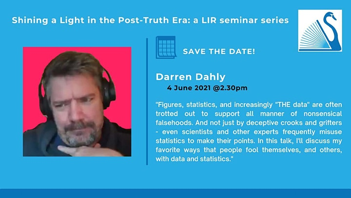 Shining a Light in the Post Truth Era - Session 6 with Dr. Darren Dahly image
