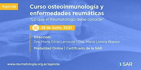 Curso de Osteoinmunología y enfermedades Reumáticas Ed. 2021 entradas
