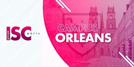 Visitez le campus orléanais de l'ISC Paris POUR DE VRAI ! billets