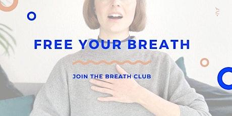 Breath Club - 30min Breathwork Class tickets