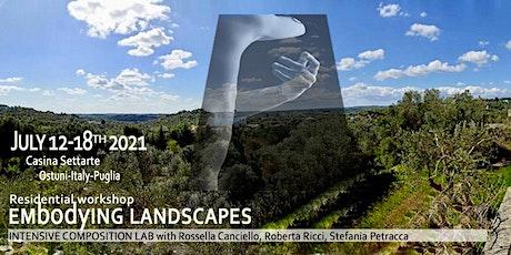 Embodying Landscapes biglietti