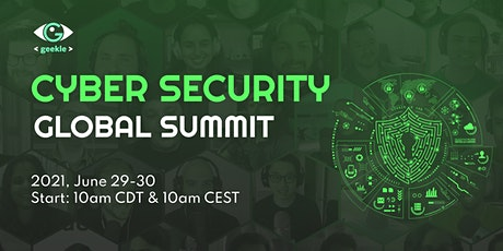 CYBER SECURITY Global Summit 2021 tickets