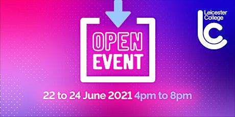 June Open Event 2021 - Freemen's Park Campus tickets