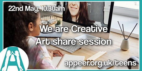 """Teen Share Session: """"We Create"""" Art and other Things We Have Designed /Made tickets"""
