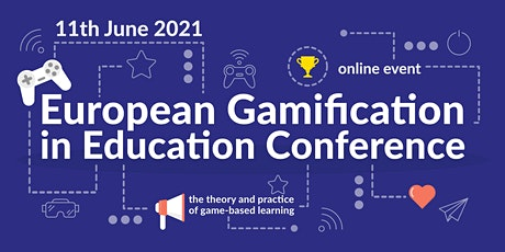 European Gamification in Education Conference tickets