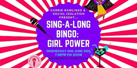 Sing-a-long Bingo: Girl Power tickets