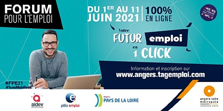 """#FPE21 """"Je me prépare aux entretiens du forum"""" - 3/06/21 billets"""