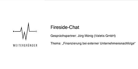 Weitergründer | Fireside Chat mit Jörg Mönig tickets