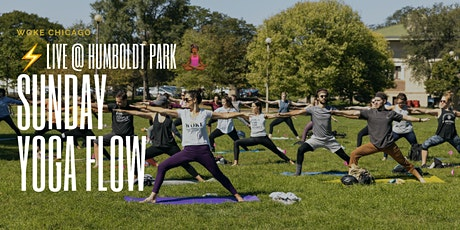 SUNDAY YOGA IN THE PARK with WOKE CHICAGO is back ⚡️(family friendly) tickets