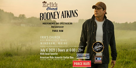 Rodney Atkins Independence Day Spectacular Presented by Parce Rum (21+) tickets
