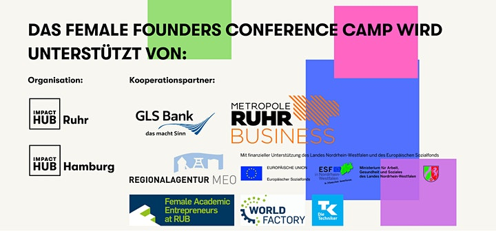 Female Founders ConferenceCamp #2 - 30.05.2021: Bild