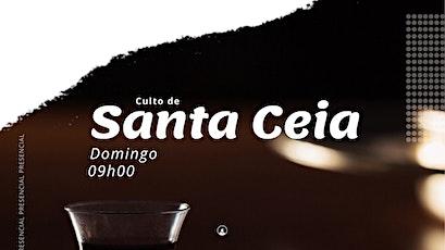 Culto de Santa Ceia - Noite |  02/05 às 18h00 ingressos