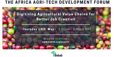 Digitising  Agricultural Value Chains for Better Job Creation in Africa Tickets