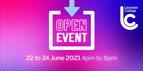 June Open Event 2021 - Appointment Only Bookings tickets