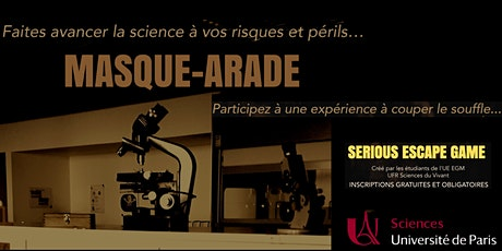 Escape Game - Masque-arade billets