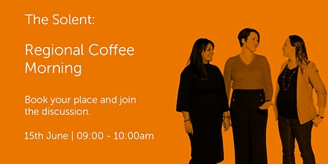 S150621 The Solent: Regional Coffee Morning tickets