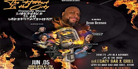 The Hottest in the City Comedy Show tickets