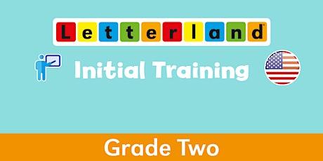 Letterland Initial Grade 2  Virtual Training  [ 1475 ] tickets