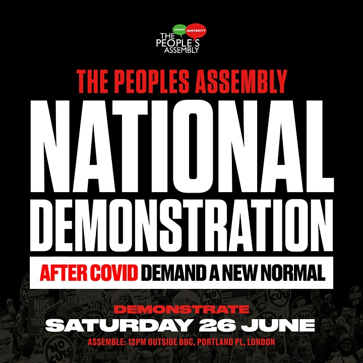 Doncaster Coach transport to People's Assembly National Demonstration image