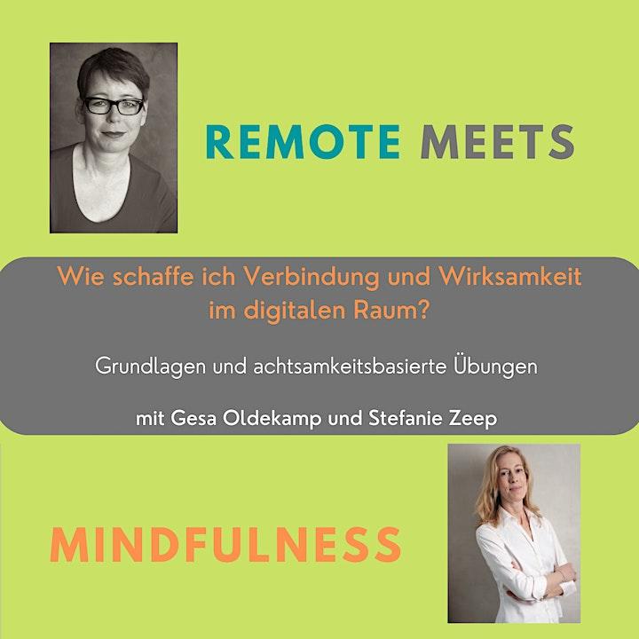 Remote meets Mindfulness. Wirksamkeit im digitalen Raum: Bild