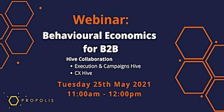 Propolis Webinar: Behavioural Economics for B2B tickets