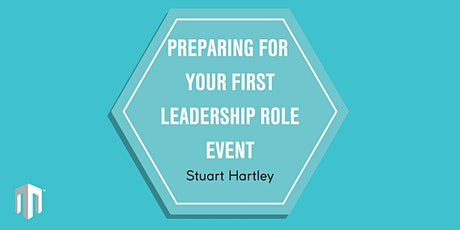 Preparing For Your First Leadership Role Event tickets