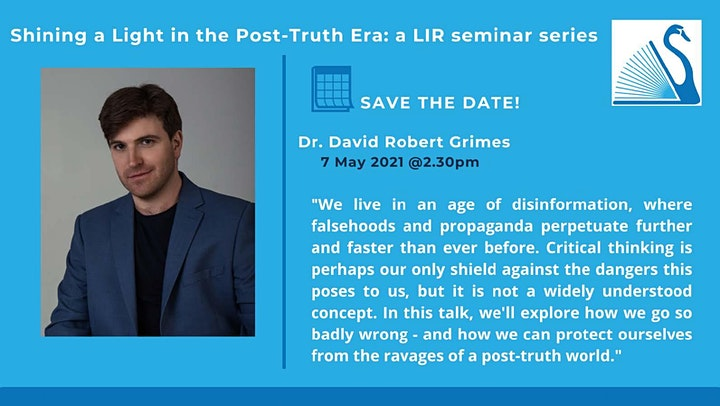 Shining a Light in the Post Truth Era - Session 2 with David Robert Grimes image