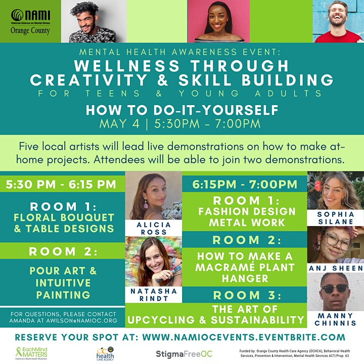 Wellness Through Creativity & Skill Building: How To Do-It-Yourself image