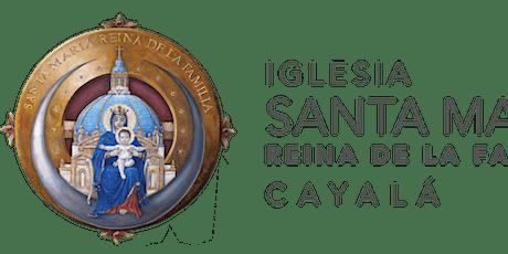 Santa Misa ISMRF del 1 al  8  de Mayo 2021 boletos