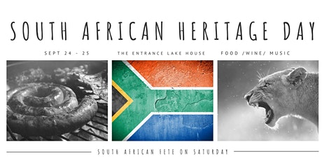 SOUTH AFRICAN HERITAGE WEEKEND 2021 tickets