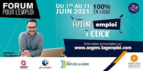 """#FPE21 """"Je me prépare aux entretiens du forum"""" - 4/06/21 billets"""