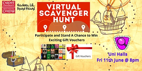 Virtual Scavenger Hunt tickets