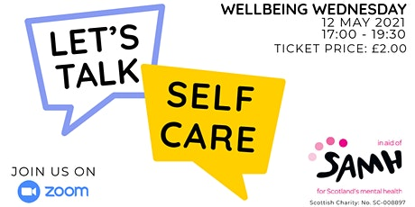 Wellbeing Wednesday tickets