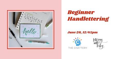 Beginner Handlettering - IN-PERSON CLASS tickets
