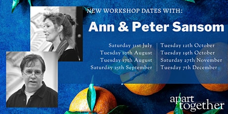 Apart Together: Saturday Poetry Workshops with Ann & Peter Sansom tickets