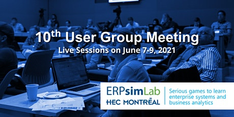 Online ERPsim User Group Meeting 2021 tickets
