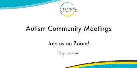 Autism Community Meetings - June tickets